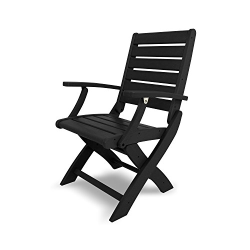 Cheap Signature Folding Chair Finish: Black