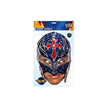 Rey Mysterio WWE Mask, Mask-arade Face Card Mask, Character Fancy Dress