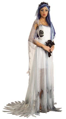 Deluxe Corpse Bride Adult Costume - (Corpse Bride Deluxe Womens Costumes)