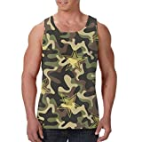 Men's Tank Top Camouflage Stars Custom Workout Vest