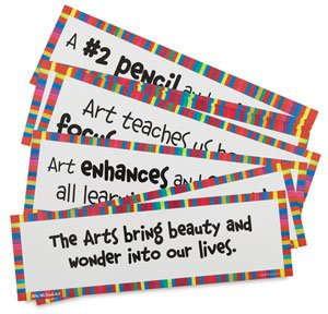 Crystal Productions Why We Teach Art Display Cards, Set of 16 by Crystal Productions