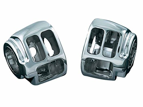 Kuryakyn switch housing set chrome left and right set sports star family (14) Dyna family (12-14) FLST [Heritage Softail] (11-14) 1747 KUR-1747 by Kuryakyn