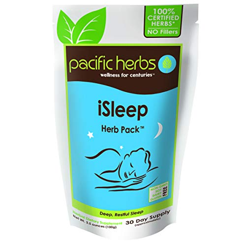 Pacific Herbs Natural Sleep Supplement Herb Extract (Best Herbs For Sleeplessness)