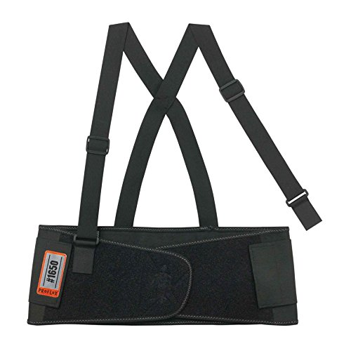 Ergodyne - 1650 S Black Economy Elastic Back Support by Proflex (Image #1)