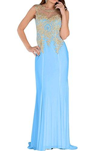 Damen Abendkleider Ivydressing Promkleid Festkleid Blau Ballkleid Rundkragen 2017 Spitze gqdxEdBA