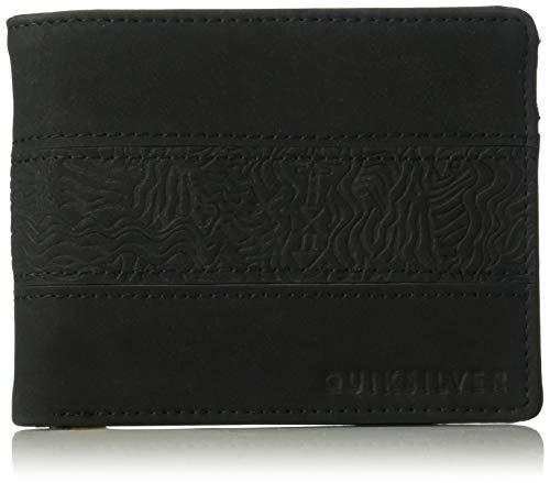 (Quiksilver Men's WAVEGARDEN Wallet, black M)