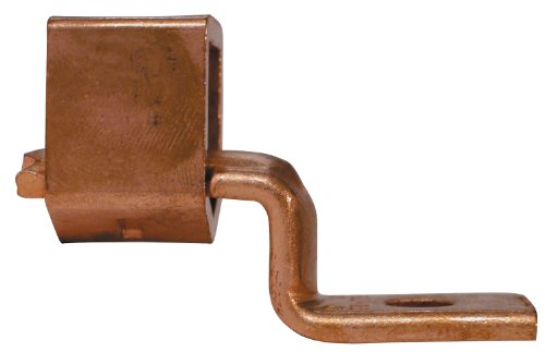 Gardner Bender GSLU-70 Copper Mechanical Cable Lugs, 8-2 AWG Solid Wire, Stud Sz. ¼ inch, Reusable - All Copper, 2 Pk.