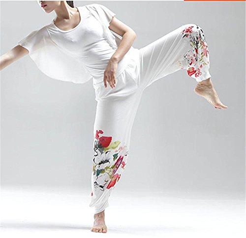 femme de à la de de yoga danse l'aise pantalon professionnels pantalons U5qP8