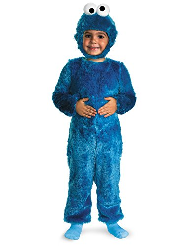 Cookie Monster Comfy Fur Costume - Small (Cookie Monster 2t Costume)