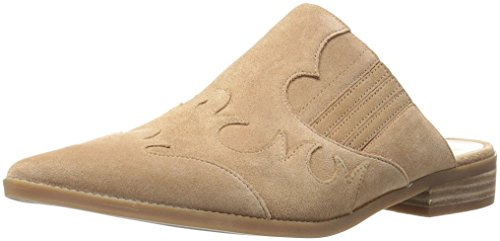 Nine West Women's Sadrah Suede Mule Natural