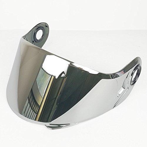 LS2 Anti-Scratch FF325/ FF370/ FF394 Motorcycle Helmet Visor Face Shield (Silver)