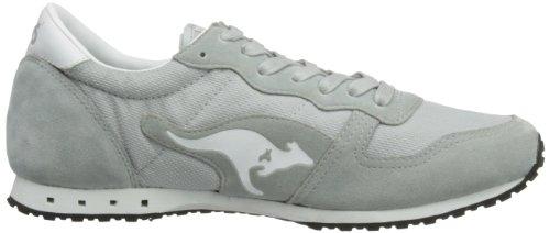 KangaROOS  Blaze III,  Unisex - Erwachsene Sneaker Semi Grey/White