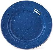 Stansport S.S. Edge Enamel Dinner Plate, 10&