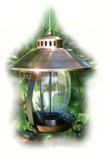 2 PACK Copper Lantern Feeder by Woodlink