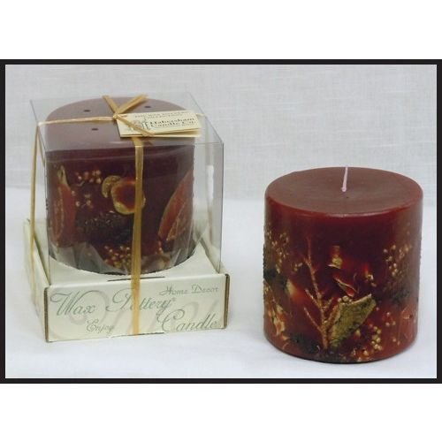 Habersham Candle Company Cranberry Spice Luminary, Made i...