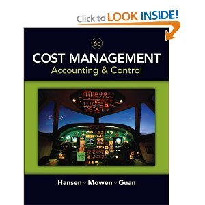 Cost Management: Accounting and Control 6th Edition (Book Only)