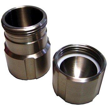 Retsch 01.462.0216 50 mL Mill Jar; stainless steel by Retsch
