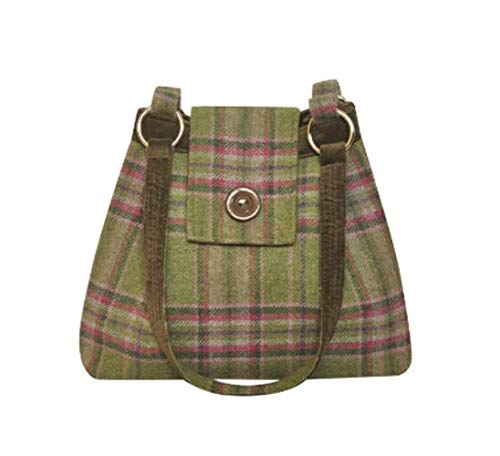 Squared a Tweed Moorland Earth Handbag Shoulder choice in colours Ava of 7qAKwrqdF