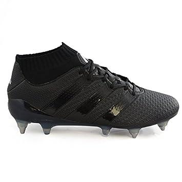 adidas Mi Ace 16.1 Blackout SG Football Boots - Adult - Black   Amazon.co.uk  Sports   Outdoors 37050e35b
