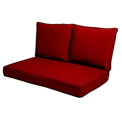 Amazon Com Efd Outdoor Loveseat Cushions Patio Furniture Couch 2