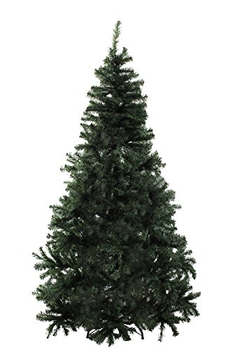 (Brand New 6' ft Premium Artificial Christmas Pine Tree With Solid Metal Legs Full 1000 Tips Tree)