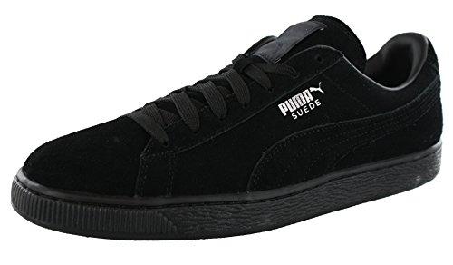 PUMA Suede Classic Sneaker,Black,10.5 M US Women's/9 M US Men's