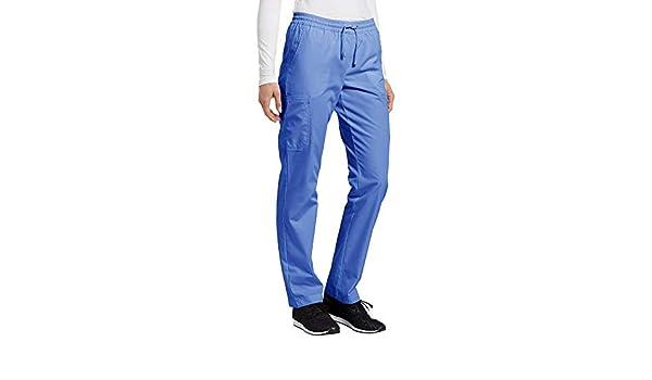 26cbbafaf17 Amazon.com: Marvella by White Cross Women's Elastic Waistband Cargo Scrub  Pant XXX-Large Ceil Blue: Clothing