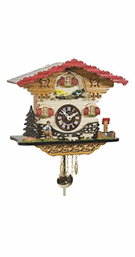 - Trenkle Kuckulino Black Forest Clock Swiss House with Quartz Movement and Cuckoo Chime TU 2058 PQ
