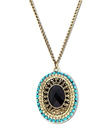 Domire Retro Elegant Peacock Necklace