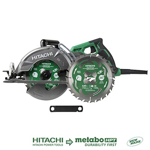 Hitachi C7WDM 7 1 4 15-Amp Worm Drive Circular Saw