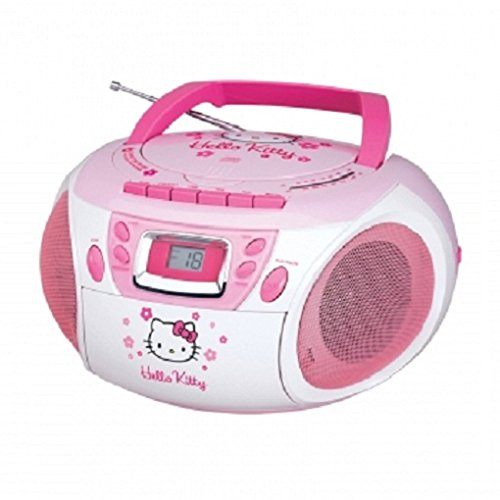 Spectra HELLO KITTY KT2028A Stereo AM/FM/CD Boom Box with...
