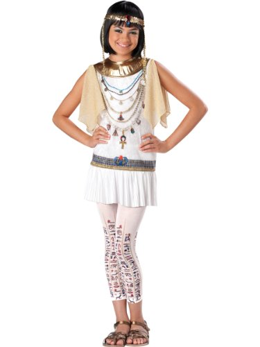 [Cleo Cutie Tween Costume - Small] (Cleopatra Cutie Adult Costumes)