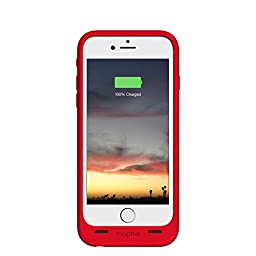 mophie juice pack air - Slim Protective Mobile Battery Pack Case for iPhone 6/6s - Red