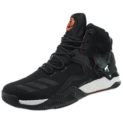 Les Hommes Adidas D Rose 7 Chaussures De Basket-ball Noir (negbas / Naranj / Neguti)