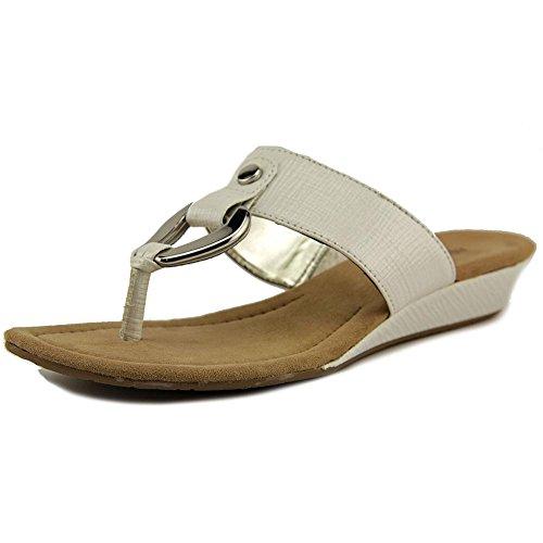 Alfani - Sandalias de vestir para mujer blanco