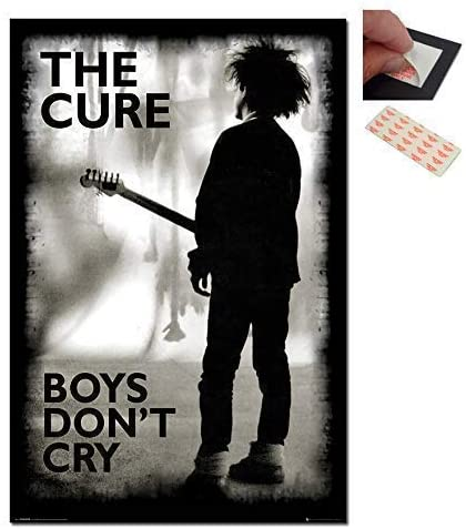 The Cure Cutout Collage Retro Emo Poster Oldschool Collage Boys Don/'t Cry Collage Poster Print Classic 50s Graphic Poster