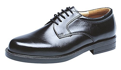 Mens Gents Leather Wide Fit Scimitar Gibson Shoes Size 6 - 14 (9)