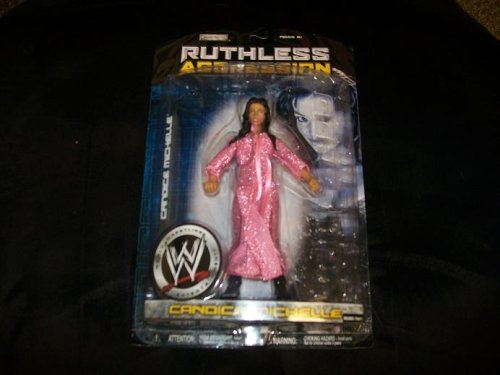 Jakks Pacific WWE Wrestling Ruthless Aggression Series 26 Candice Michelle Action Figure by Jakks Pacific