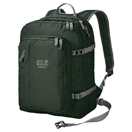 Green  spruce 44 x 32 x 35 cm Jack Wolfskin  Berkeley Unisex Outdoor Hiking Backpack available in bluee  Night bluee  30 Litres