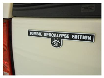 Amazon com: Zombie Apocalypse Edition - Chrome Plated