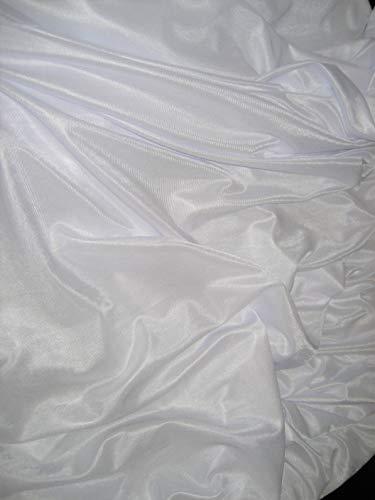 Low Stretch Aerial Silks/Yoga HAMMOCKS Fabric, Sells by The Yard (White)