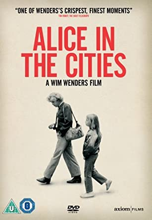 Wim Wenders Alice in the cities movie poster print