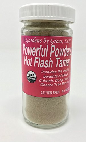 Hot Flashes Menopause Relief Natural Remedy | Night Sweats, Weight Loss, Mood Swing Blend | Organic, Vegan, Herbal Blend, Black Cohosh, Vitex, Homeopathic