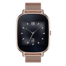 ASUS ZenWatch 2 WI502Q-RM-RG-Q 1.45-inch AMOLED Smart Watch with  Quick Charge - GOLD METAL