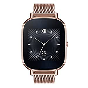 ASUS ZenWatch 2 Rose Gold 37mm Smart Watch with Quick Charge Battery, 4GB Storage, 1.45-inch AMOLED Gorilla Glass 3 TouchScreen, IP67 Water Resistant