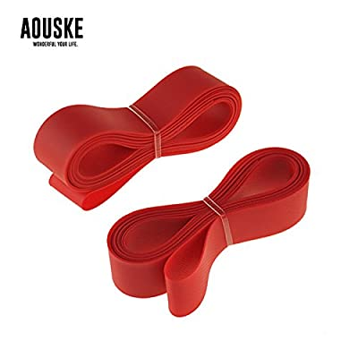 MostaShow AOUSKE Backing Tape PVC High-pressure Rim Cushion 20''/26''/27''/29''/700C20mm Bicycle Tire Prevent Puncture Pad Rim Protection