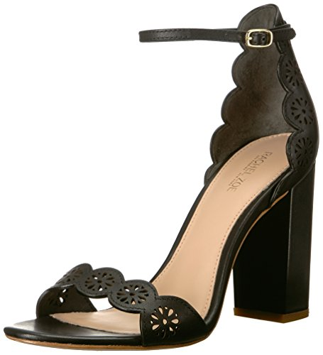 Rachel Zoe Women's Waverly Sandal Heeled, Black, 7.5, used for sale  Delivered anywhere in USA