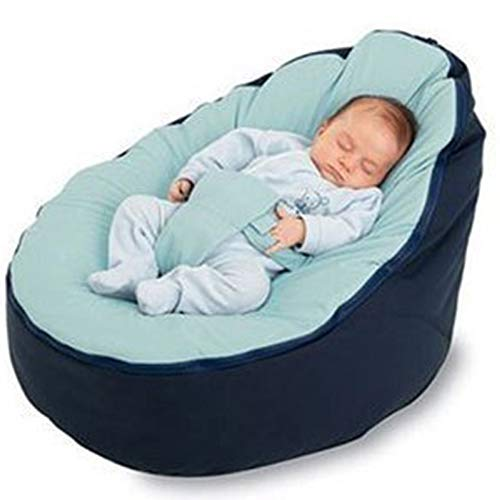 MZS Tec Baby Bean Bag, Baby Seat Nursing Bed Soft Fabric for sale  Delivered anywhere in USA
