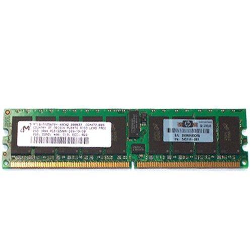 345114-861 2Gb (1X2gb) Ddr2 400Mhz Pc-3200 240-Pin Cl3 Ecc Registered