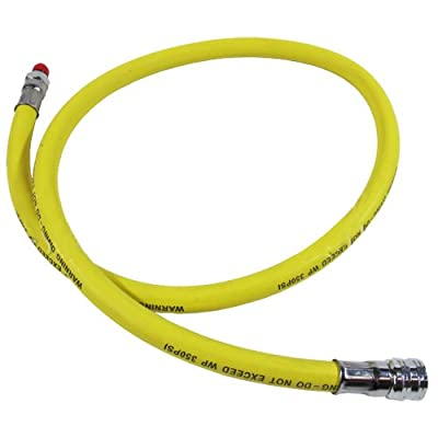 "Scuba Diving 40"" 350 PSI Yellow Low Pressure LP Regulator Octopus Hose for 2nd Stage"